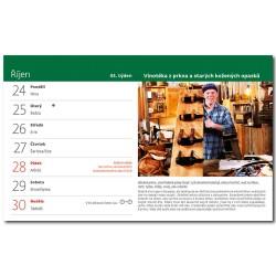 Stolní kalendář 2022 - Vychytávky Ládi Hrušky