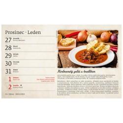Stolní kalendář 2022 - Babiččiny recepty