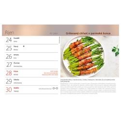 Stolní kalendář 2022 - Grilování
