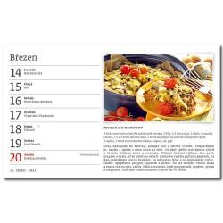 Stolní kalendář 2022 - Hrníčková kuchařka