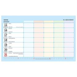 Stolní i nástěnný kalendář 2022 - Týdenní rodinný plánovací kalendář