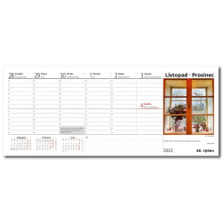 Stolní kalendář 2022 - Žánrový kalendář