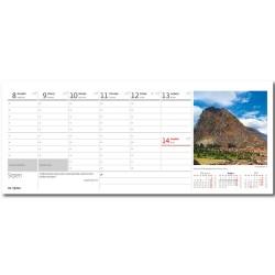 Stolní kalendář 2022 - Svět hor