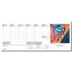 Stolní kalendář 2022 - Děti malují pro Konto Bariéry