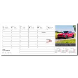 Stolní kalendář 2022 - Auta/Autá
