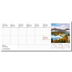 Stolní kalendář 2022 - Obrázky ze světa/Obrázky zo sveta