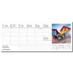 Stolní kalendář 2022 - Města Evropy/Mestá Európy
