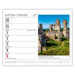 Stolní kalendář 2022 MiniMax - Tipy na výlety