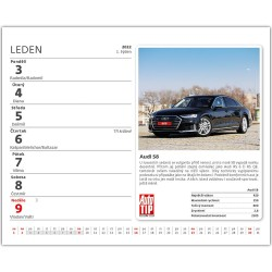 Stolní kalendář 2022 MiniMax - Auta