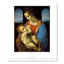 Nástěnný kalendář 2022 - Leonardo da Vinci