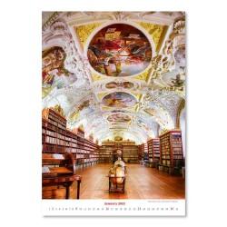 Nástěnný kalendář 2022 - Bibliotech