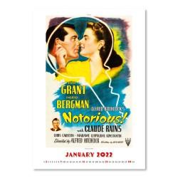 Nástěnný kalendář 2022 - Hollywood Posters