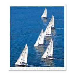 Nástěnný kalendář 2022 - Sailing