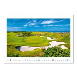 Nástěnný kalendář 2022 - Golf