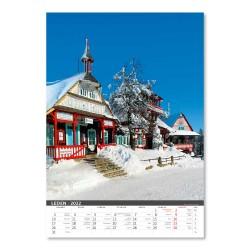 Nástěnný kalendář 2022 - Morava/Moravia/Mähren