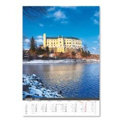 Nástěnný kalendář 2022 - Naše hrady a zámky