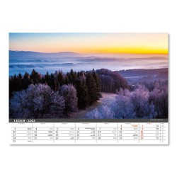 Nástěnný kalendář 2022 - Česká krajina