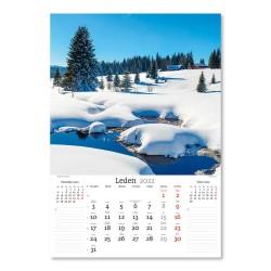 Nástěnný kalendář 2022 - Nejkrásnější místa ČR
