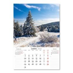Nástěnný kalendář 2022 - Naše příroda