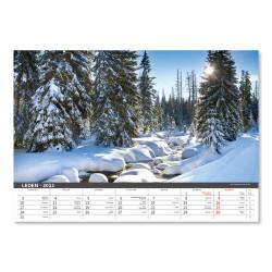 Nástěnný kalendář 2022 - Šumava