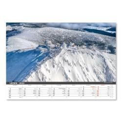 Nástěnný kalendář 2022 - Česko mezi oblaky