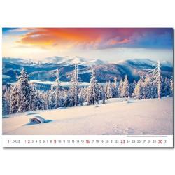 Nástěnný kalendář 2022 - Landscapes