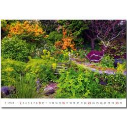 Nástěnný kalendář 2022 - Gardens