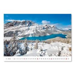 Nástěnný kalendář 2022 - National Parks