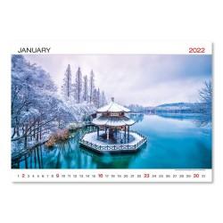 Nástěnný kalendář 2022 - World Wonders