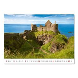 Nástěnný kalendář 2022 - Romantic Castles