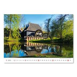 Nástěnný kalendář 2022 - Water Mill