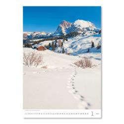Nástěnný kalendář 2022 - Alps