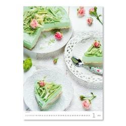 Nástěnný kalendář 2022 - Food Style