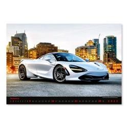 Nástěnný kalendář 2022 - Cars
