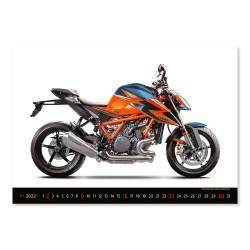Nástěnný kalendář 2022 - Motorbikes