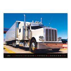 Nástěnný kalendář 2022 - Trucks