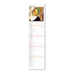Nástěnný kalendář 2022 Kravata - Alfons Mucha