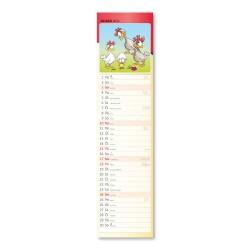 Nástěnný kalendář 2022 Kravata - Kreslený kalendář