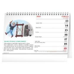 Stolní kalendář 2022 Lidová přísloví II.