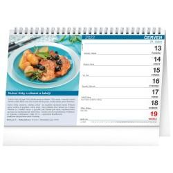 Stolní kalendář 2022 Kuchařka (ne)jen pro muže