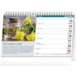 Stolní kalendář 2022 Bylinky a čaje