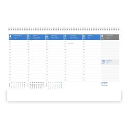 Stolní kalendář 2022 - Maximanager modrý