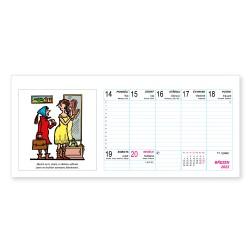 Stolní kalendář 2022 - Neprakta