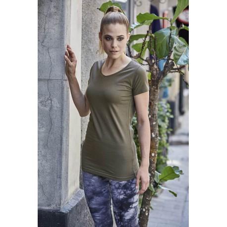 Dámské strečové tričko Tee Extra Lenght