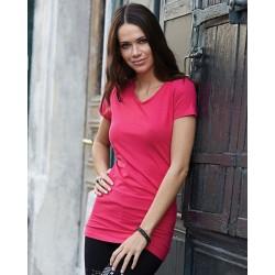 Dámské strečové tričko Tee Extra Lenght - Výprodej