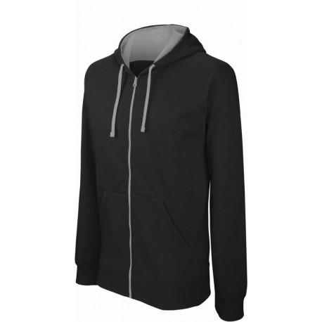 Pánská mikina s kontrastní kapucí Contrast Hooded Sweatshirt