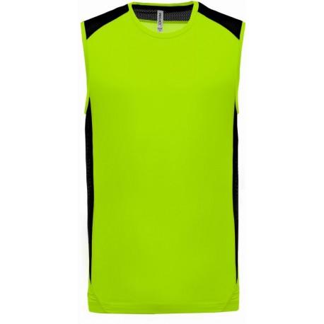 Pánské funkční tričko bez rukávů Two-tone Sport Tank Top