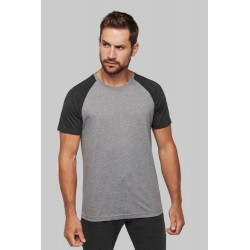 Pánské sportovní tričko Two-tone sport short sleeve