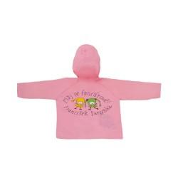 Dětská pláštěnka Kouzelná školka - růžová