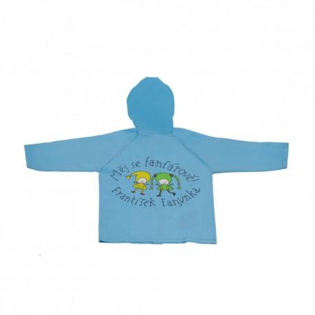 Dětská pláštěnka Kouzelná školka - modrá
